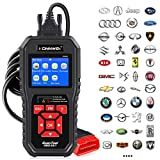 KONNWEI OBD2 Scanner Professional Car OBD II Scanner Auto Diagnostic Fault Code Reader Automotive Check Engine Light Diagnostic EOBD Scan Tool for All OBDII Protocol Cars Since 1996 (Enhanced KW850)