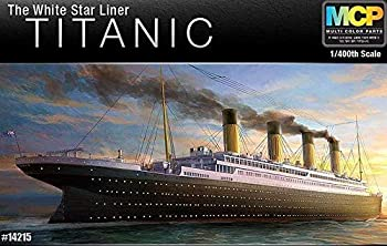 Academy Hobby Model Kits Scale Model   Battle Ships & Aircraft Carrier Kits  1/400 R.M.S Titanic MCP