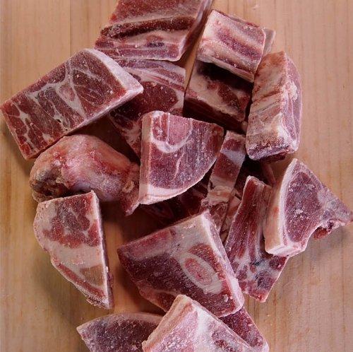 ミートガイ ラム肉 丸(カーカス)骨付きカット (1kg) Whole Bone-in Lamb Cut