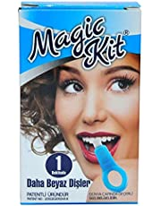 Magic Kit Diş Beyazlatma ve Temizleme Kiti Daha Beyaz Dişler 5li