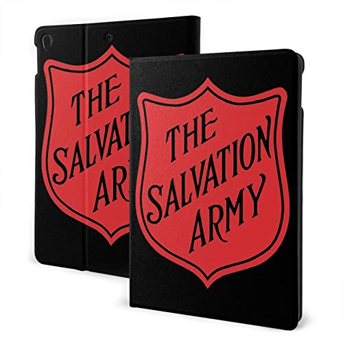 Fejarx The Salvation Army The New Ipad Eighth Generation (2020)/Seventh Generation (2019)/ 10.2-Inch Shell-Corner Protection Multi-Angle Split Case