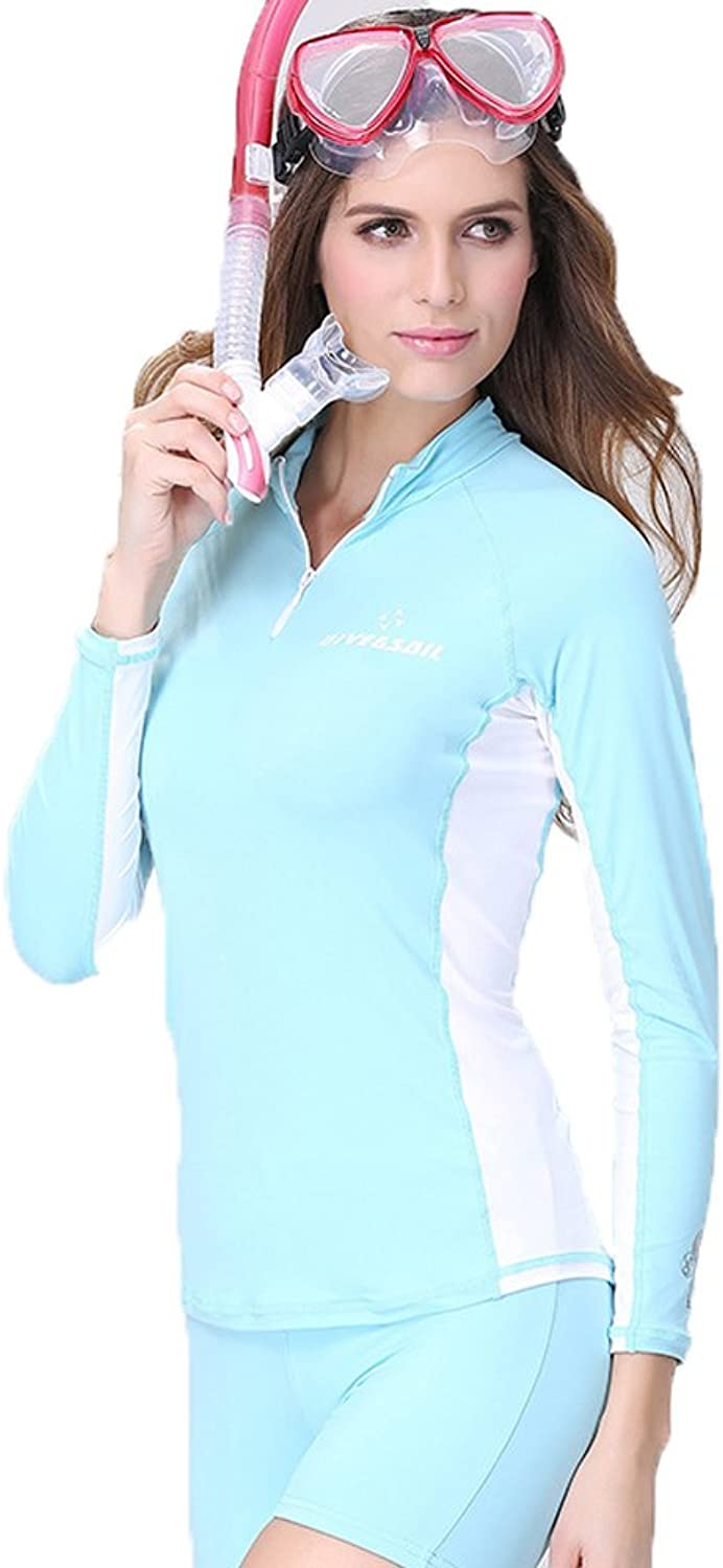A Point Outdoor Sports Fitness Yoga Shorts Long Sleeved Diving Suit Sets for Women