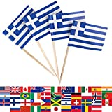 JBCD 100 Pcs Greece Flag Tooth...