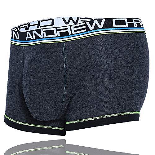 Almost Naked Boxershorts, Baumwolle -  Grau -  Medium