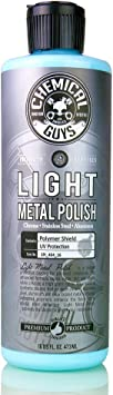 Chemical Guys SPI_404_16 Light Metal Polish, 16 oz, Blue: image