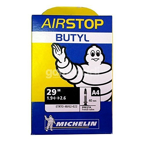 Michelin A4 Airstop Inner Tube 48/54 – 622, SV 40 mm by