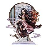 Wuhuayu Figura Kimetsu no Yaiba - Estatua De Resina De Nezuko Kamado Hecha A Escala 1/6, 31 Cm (12,2 Pulgadas) De Alto, Estatua De Figura Senior Y Delicada, 350 Unidades Vendidas En Todo El Mundo