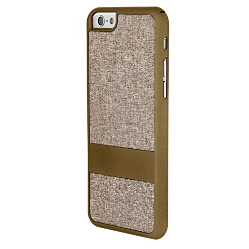 Case Logic 100 Sleek and Highly Protective Fabric Case for iPhone 6 Plus - Retail Packaging - Gold