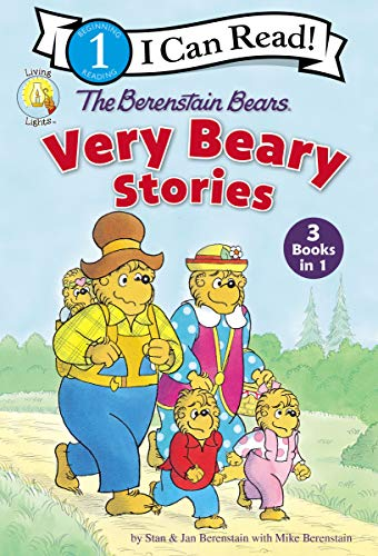 The Berenstain Bears Very Beary Stories: 3 Books in 1 (Berenstain Bears/Living Lights: A Faith Story) (English Edition)