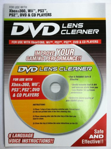 Playtech Xbox 360 DVD Lens Cleaner