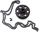 Go Kart Clutch 3/4 Bore 12T with #35 Chain, Centrifugal Clutch Fit for Go Kart Minibike Honda Engines 3/16 Key Way