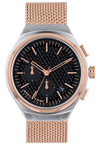 Reloj Breil colección SPIN Off Movimiento de Cuarzo Chrono y Acero Mesh para Hombre ES One Size