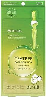 MEDIHEAL(メディヒール) 【正規品】シートマスク ティーツリーケアソルーション 3枚 フェイスマスク