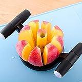 FiedFikt Cortador de frutas descorazonadores de frutas, divisor de frutas, mango cómodo, cortador de frutas, herramienta de cocina