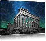 Propyläe von Akropolis in Athen schwarz/weiß Format: