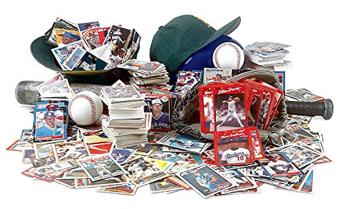 1000 Baseball Cards from 7 Decades