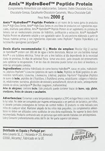 HYDROBEEF PROTEIN 2 KG Cacahuete-choco-caramelo: Amazon.es ...