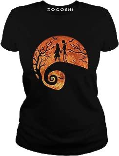 Jack Skellington Sally Love Halloween T-Shirt