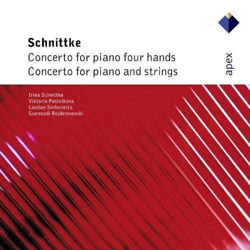 Viktoria Postnikova, Irina Schnittke, Gennadi Rozhdestvensky & London Sinfonietta