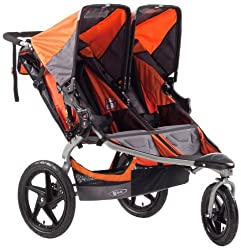 Double Jogging Stroller with Infant Car Seat Attachment