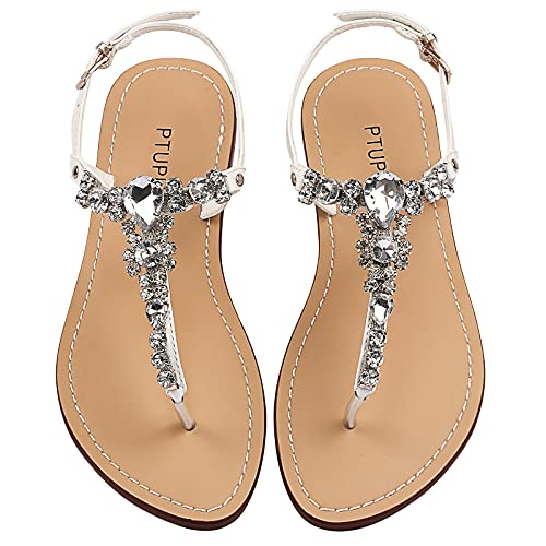 Top 10 best selling list for flat jeweled bridal shoes