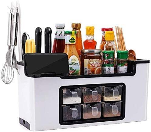 Spice Storage Multi-Purpose Seasoning shop Reservation Box Standing Set Jar
