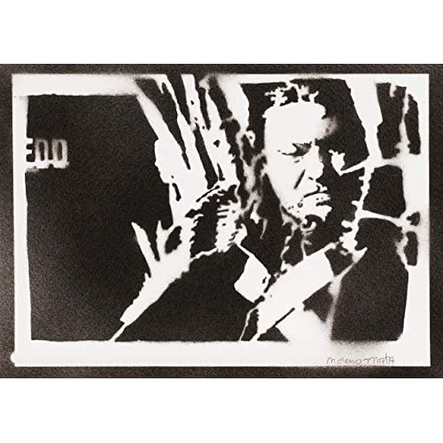 Poster Ned Stark Il Trono di Spade Game of Thrones Handmade Graffiti Sreet Art - Artwork