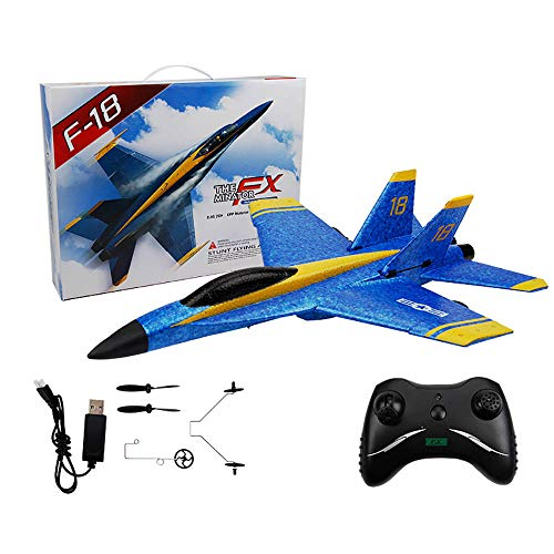 Remote Control Airplane, 2.4Ghz 2 Channel RC Plane Ready to Fly, Durable EPP Foam Built-in 3-Axis...