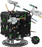 Bloques de construcción nave espacial, Borg Cube Diorama bloques de construcción