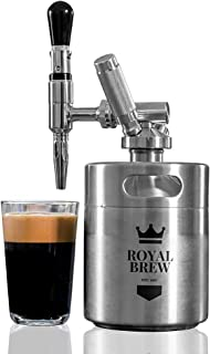 Royal Brew Nitro Cold Brew Coffee Maker Home Keg Kit System