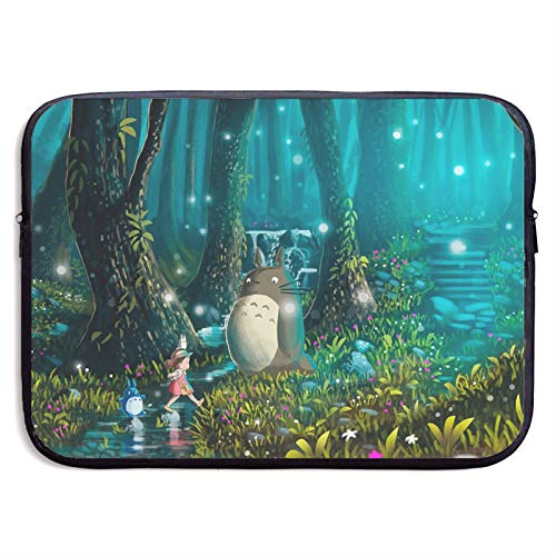 Totoro Laptop Sleeve Bag Tablet Fashion Briefcase Ultra Portable Protective Cover MacBook Air MacBook Pro Notebook Computer Sleeve Case 15 inch