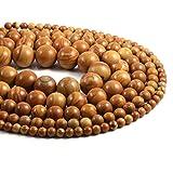 JSJJAUJ Colgantes Piedra Natural Piedra Redondea Beadsolation Beads Bricolaje Accesorios de Pulsera Collars (Item Diameter : 12mm)
