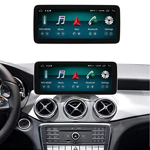 Android Autoradio Pantalla Tactil para Coche Built-In Wireless Carplay 10.25/12.5 Pulgadas Táctil GPS Navegación Car Audio Player Radio para Mercedes Benz A W176 CLA C117 X117 GLA X156,Ntg 5.0,N600