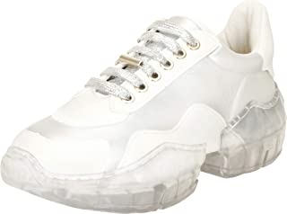 Cambridge Select Women's Retro Lace-Up 90s Ugly Dad Chunky Clear See-Through Platform Sole Fashion Sneaker