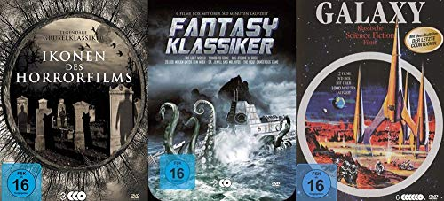 30 Klassiker - IKONEN DES HORROR - & SCIENCE FICTION & FANTASY FILMS - Edgar Wallace + Edgar Allen Poe + Jules Verne u.v. m. DVD Collection