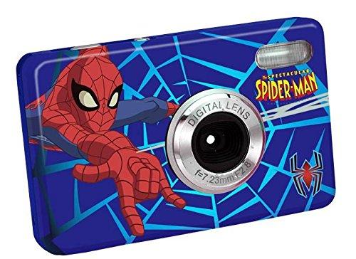 Lexibook Spiderman Digitalkamera (5 Megapixel, 8-Fach Optical Zoom, 6,1 cm (2,4 Zoll) Display)