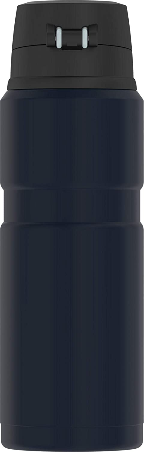 Thermos Stainless King 24 Ounce Drink Bottle Midnight Blue