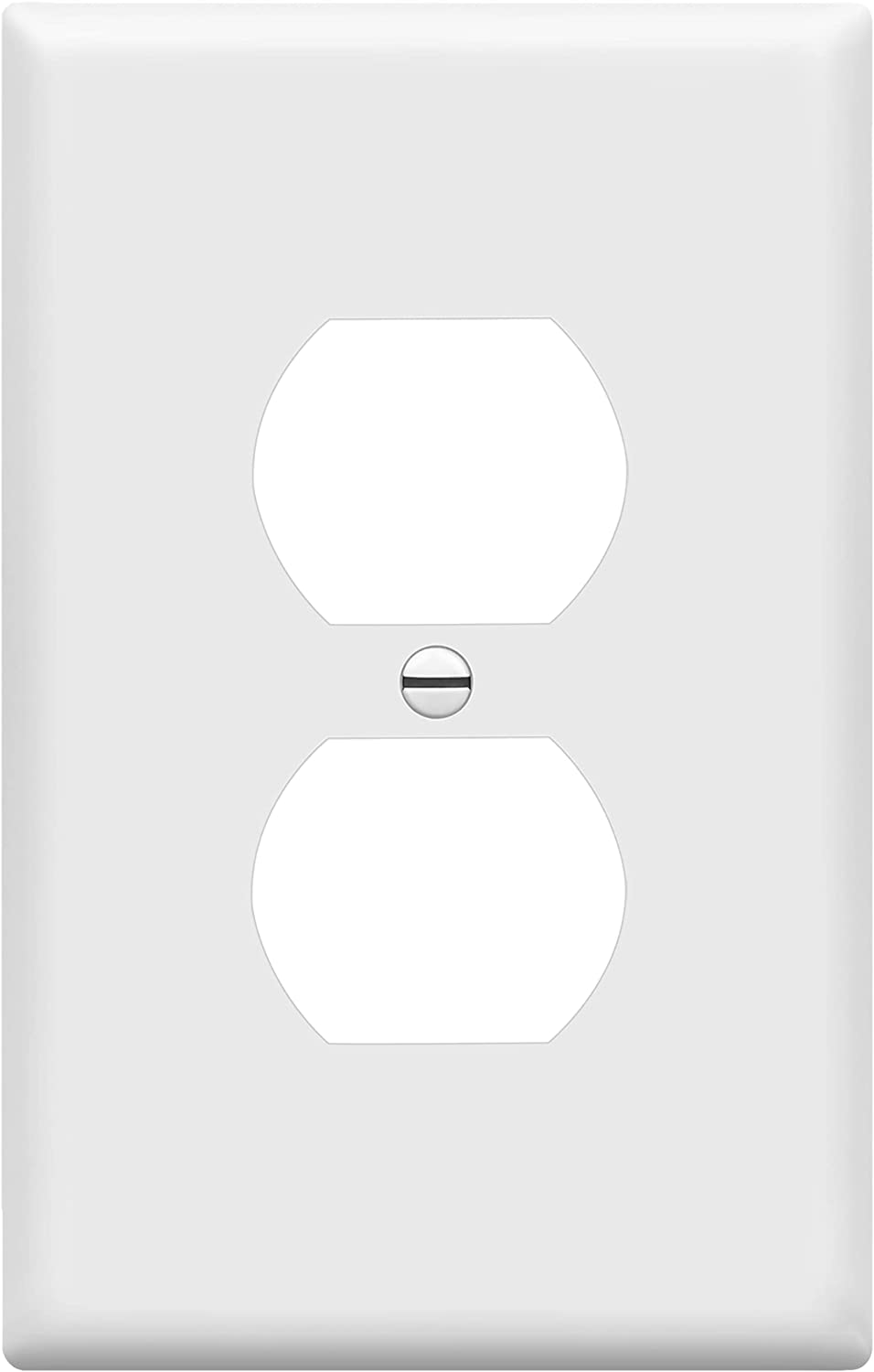 ENERLITES Brand Cheap Sale Venue Duplex Max 74% OFF Receptacle Outlet Plate Wall Electrical