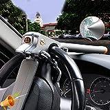 LHM-Lock Universal Lenkradkralle zur Diebstahlsicherung Auto I Diebstahlschutz durch Lenkradschloss & Lenkradsperre I