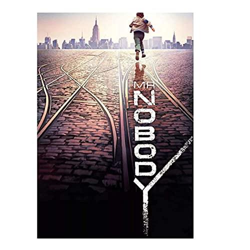 HANTAODG Sfミスターノーバディ映画のポスターとプリントキャンバスウォールアートプリント絵画写真家の装飾-50X70Cmフレームレス