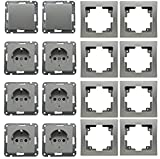 DELPHI Starter-Kit, 8-teilig, silber inkl. Rahmen