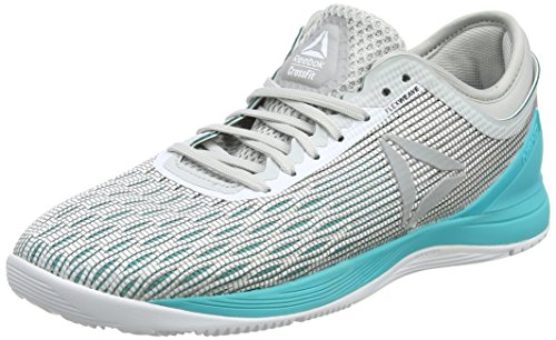 Reebok Damen Crossfit Nano 8.0 Fitnessschuhe, Weiß (White/Grey/Teal 000), 40 EU