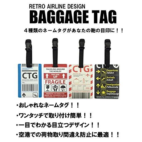 [コンサイス]バゲッジタグ・SフライトタグA10cm0.0013kg521785レッド