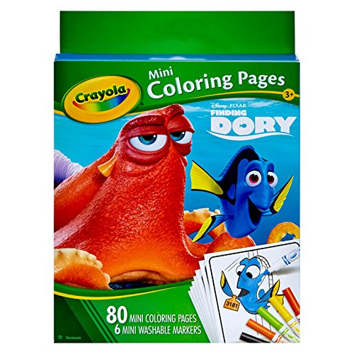 Crayola Finding Dory Mini Coloring Pages