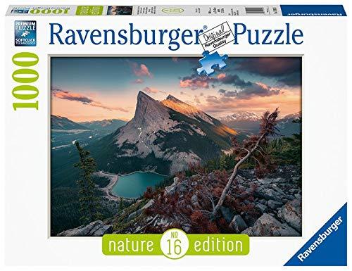 Ravensburger Puzzle 15011 - Abends in den Rocky Mountains - 1000 Teile Puzzle für Erwachsene und Kinder ab 14 Jahren, Puzzle mit Landschaft und Natur