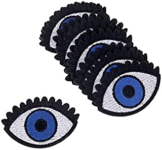 embroidered applique eyes