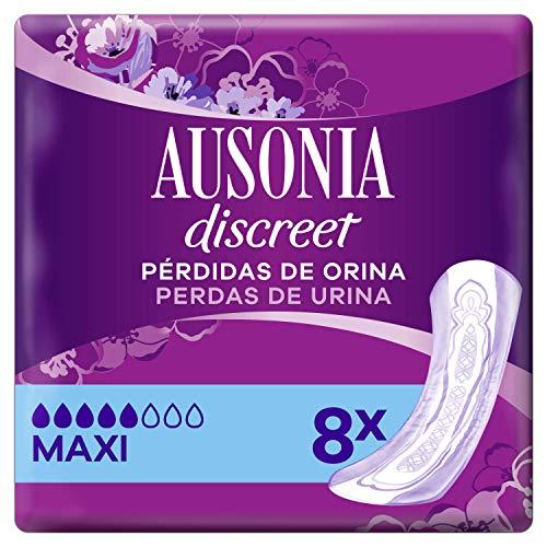 Ausonia Discreet Maxi Compresas Para Pérdidas De Orina x 8