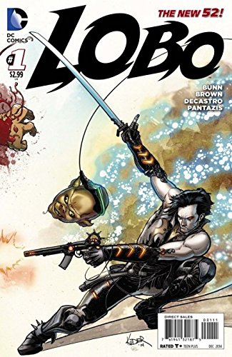 Lobo #1 ((DC Comics)) New 52 ((1st Printing)) October 2014 ((Regular Aaron Kuder Cover))