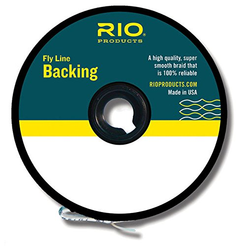 Rio Fly Fishing Backing Dacron 20Lb 100 yd. Fly Tying Equipment, Chartreuse