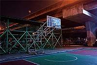 APAN7x5ft地下バスケットボールコート背景バスケットボール少年の誕生日パーティーの写真の背景NBAテーマスポーツパーティーキッドマンスポーツクラブマン学生芸術ポートレート写真撮影の小道具